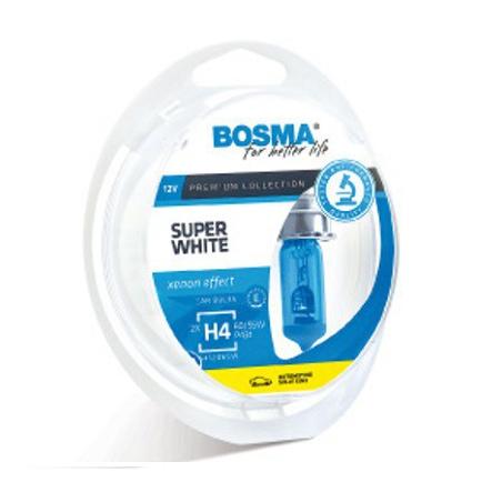 Lámparas Bosma H1 12v 55w Super White 541203SW