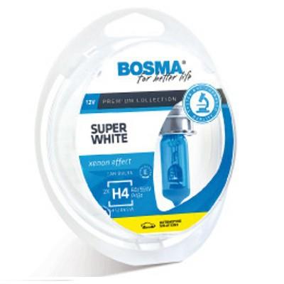 Lámparas Bosma H4 12v 60/55w Super White 541206SW