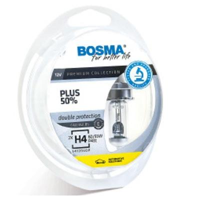 Lámparas Bosma H1 12v 55w Super White Plus 50% Ref 541203OP