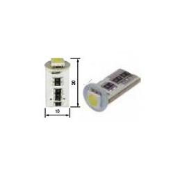 Blíster Lámpara 1LED 12V T10 SMD2pcs