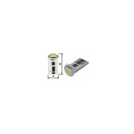 Blíster Lámpara 1LED 24V T10 SMD2pcs