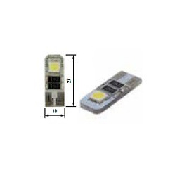 Blíster Lámpara 2LED 24V T10 SMD2pcs