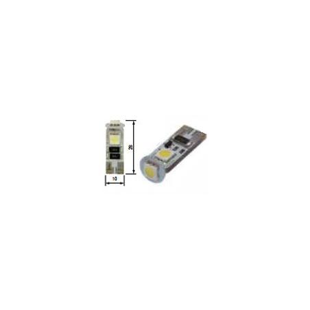 Blíster Lámpara 3LED 12V T10 SMD2pcs