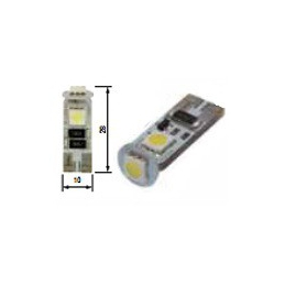 Blíster Lámpara 3LED 24V T10 SMD2pcs