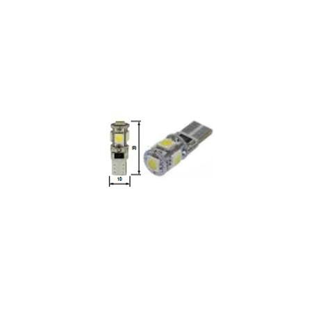 Blíster Lámpara 5LED 12V T10 SMD2pcs