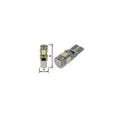 Blíster Lámpara 5LED 24V T10 SMD2pcs