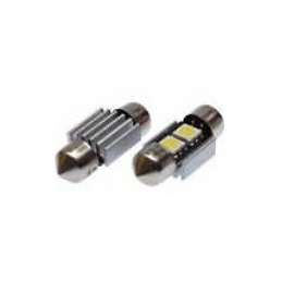 Blíster Lámpara 2LED 24V SV8,5 13×31 SMD 2pcs