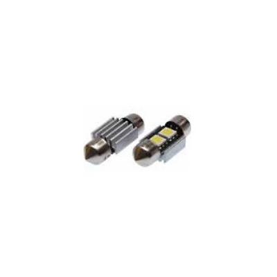 Blíster Lámpara 2LED 24V SV8,5 13×31 SMD 2pcs
