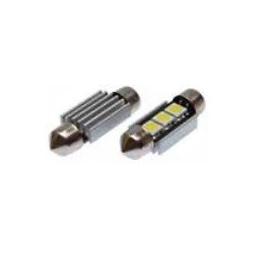 Blíster Lámpara 3LED 12V SV8,5 13×31 SMD 2pcs