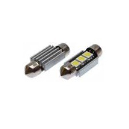 Blíster Lámpara 3LED 24V SV8,5 13×31 SMD 2pcs