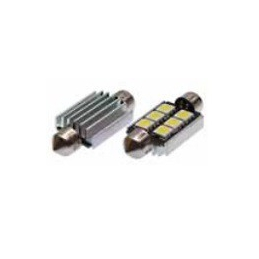 Blíster Lámpara 6LED 12V SV8,5 13×31 SMD 2pcs