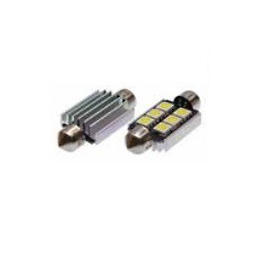 Blíster Lámpara 8LED 12V SV8,5 13×31 SMD 2pcs