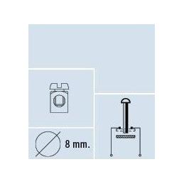 Interruptor tirón, negro, contermInales Ø 8mm