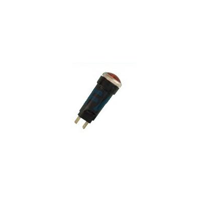 Luz Control ambar, cristal Ø 18mm, lamp T10