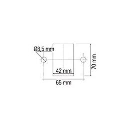 Desconectador de Batería Unipolar y Manual 250A, 2000A de pico