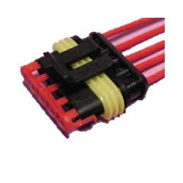 "Conector estanco ""Super Seal"" 5 vías Portahembra"
