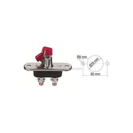 Desconectador de Batería Unipolar 12/24VDC /100A