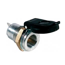 Base 2 Polos de Aluminio ISO 4165 con 2 Contactos