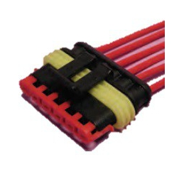 "Conector estanco ""Super Seal"" 6 vías Portahembra"