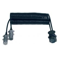 Adaptador Bi-Espiral Clavija 15 Polos + 2 Clavijas 24v