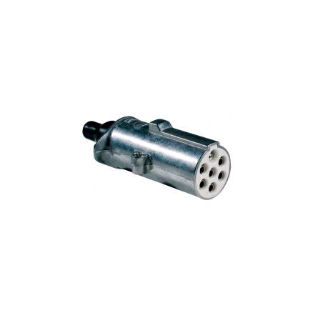 Clavija 7 Polos 24V/S ISO 3731