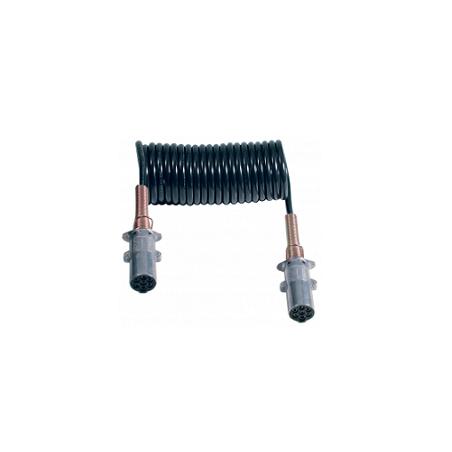 Espiral Eléctrica 7 Polos 24V/N en Hytrel®