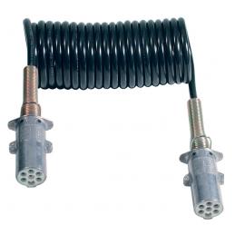 Espiral Eléctrica 7 Polos 24V/S en Hytrel®