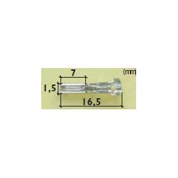 Terminal Hembra para conector Súper Seal 1,5mm