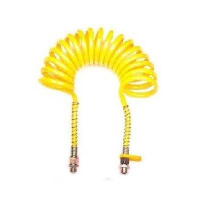 Espiral neumática 5m. Boquilla 16 amarilla