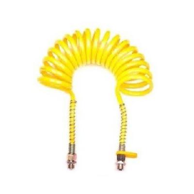 Espiral neumática 5m. Boquilla 22 amarilla