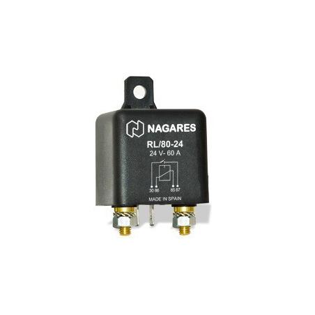 Relés de Potencia Interruptores 24V 60A