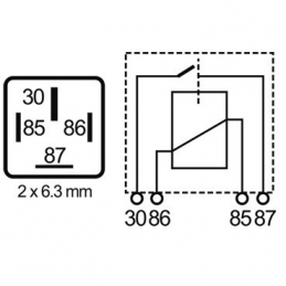 Relés Polivalentes Interruptores 12V 70A