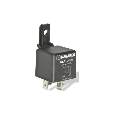 Relés Polivalentes Interruptores 24V 40A