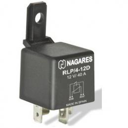 Relés Polivalentes Interruptor 12V 40A Protección: Diodo