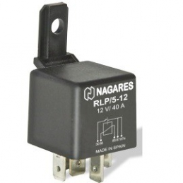 Relés Polivalentes Interruptor. Doble Salida 12V 40A