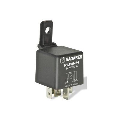 Relés Polivalentes Interruptor Doble Salida 24V 22A