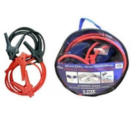 Juego Cable Emergencia. Sección 25mm 220 A 3m