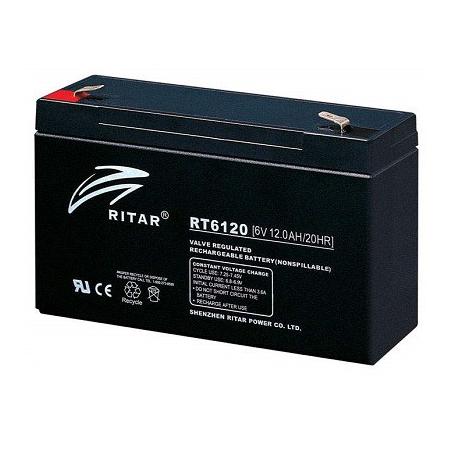 Batería Cíclica 6v 12A 151X50X101