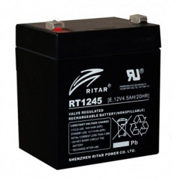 Batería Cíclica RITAR RT1245 - 12v 4,5A 90X70X107