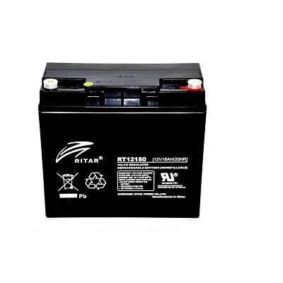 Batería Cíclica RITAR RT12180 - 12v 18A 181X77X16