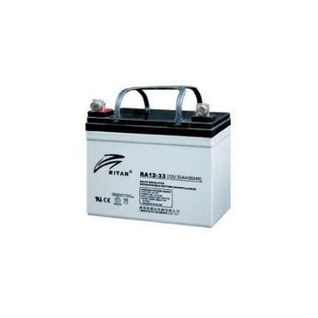 Batería Cíclica RITAR RA12-33 - 12v 33A 195x130x180
