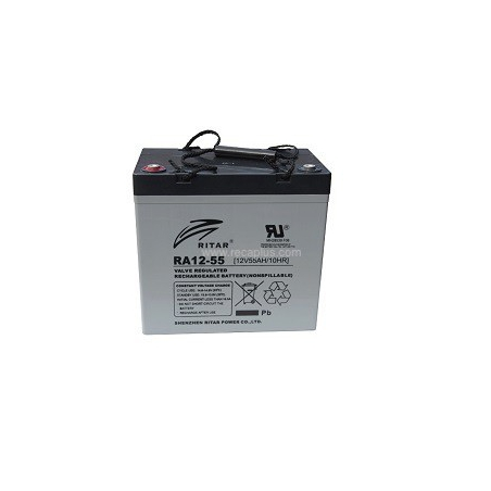Batería Cíclica 12v 55A 229x138x235