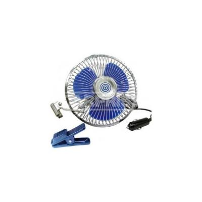 Ventilador Metal 12V Oscilante 20 cm