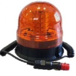 Rotativo LED 12/24v con Base Imantada toma Mechero