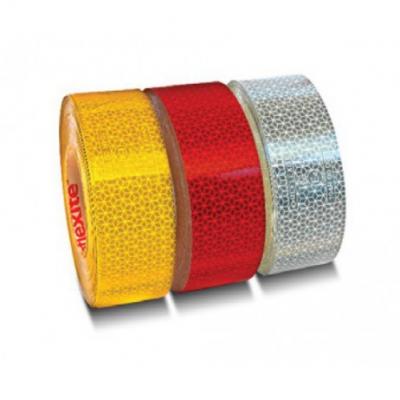 Cinta reflectante roja (sup.rígida) 50mmx50m