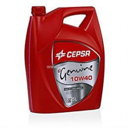 Aceite de Motor: CEPSA GENUINE SYNTHETIC 10W40