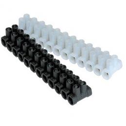 Regleta Conexión 6 mm negro